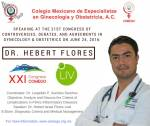 Dr.Flores Key Note Speaker at Conference in Mexico